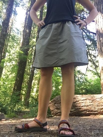 Macabi Knee Length Skirt Review | Darwin Onthetrail